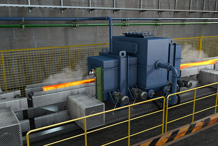 Descaling Of Steel In Hot Rolling Mills