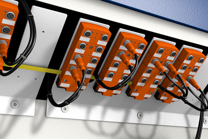 Quick wiring by means of AS-Interface on