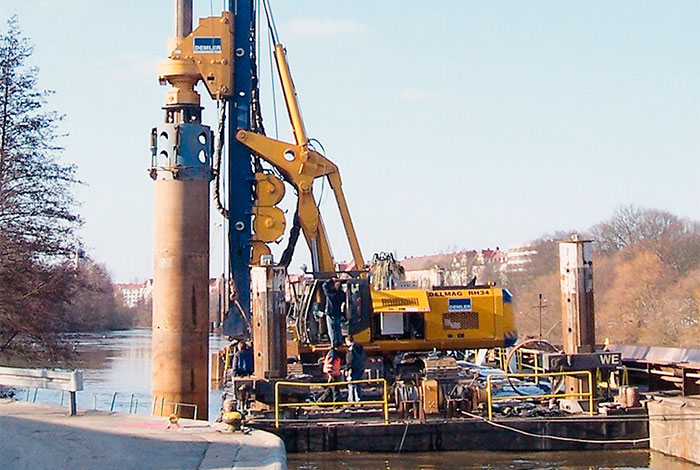 piling drilling machine