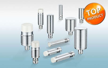 Inductive Kplus stainless steel housing sensors for factory automation with correction factor 1