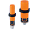 Capacitive sensors especially for the plastics industry.