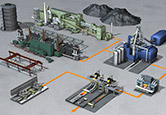 Crude steel production - process diagram