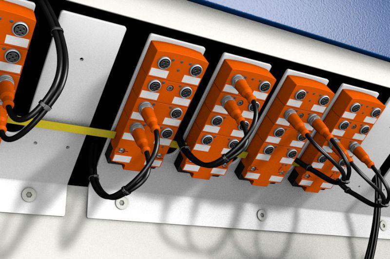 Schnellverdrahtung mit Hilfe von AS-Interface - ifm-electronic