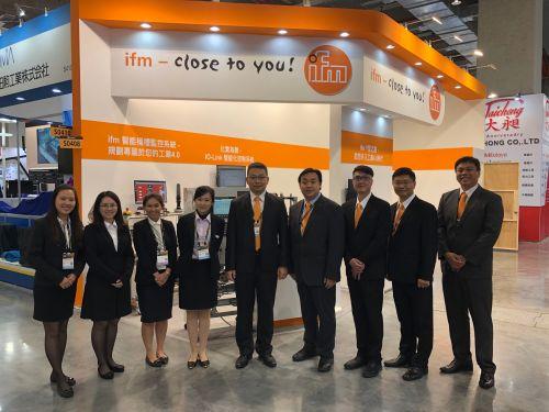 ifm participates in the 2019 Taipei International Tool