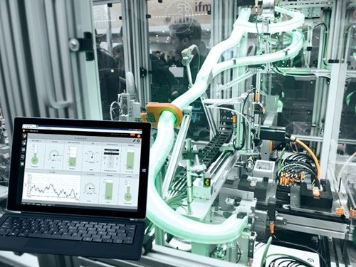 IT and automation technology are integrated in a simple and economical manner for the first time - from the sensor to SAP®.