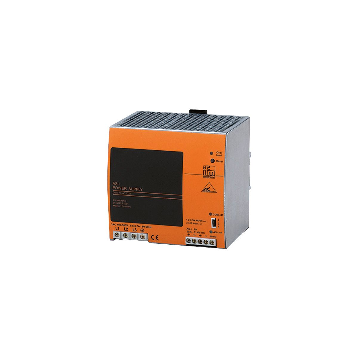 IFM Electronic AS-i Power Supply AC1223 AC 1223