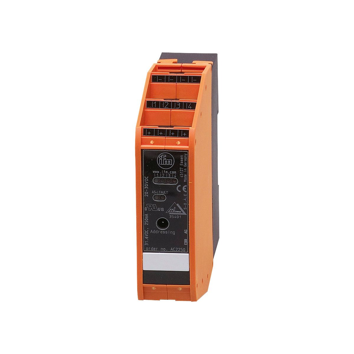 AC2216 - AS-Interface control cabinet module - ifm electronic