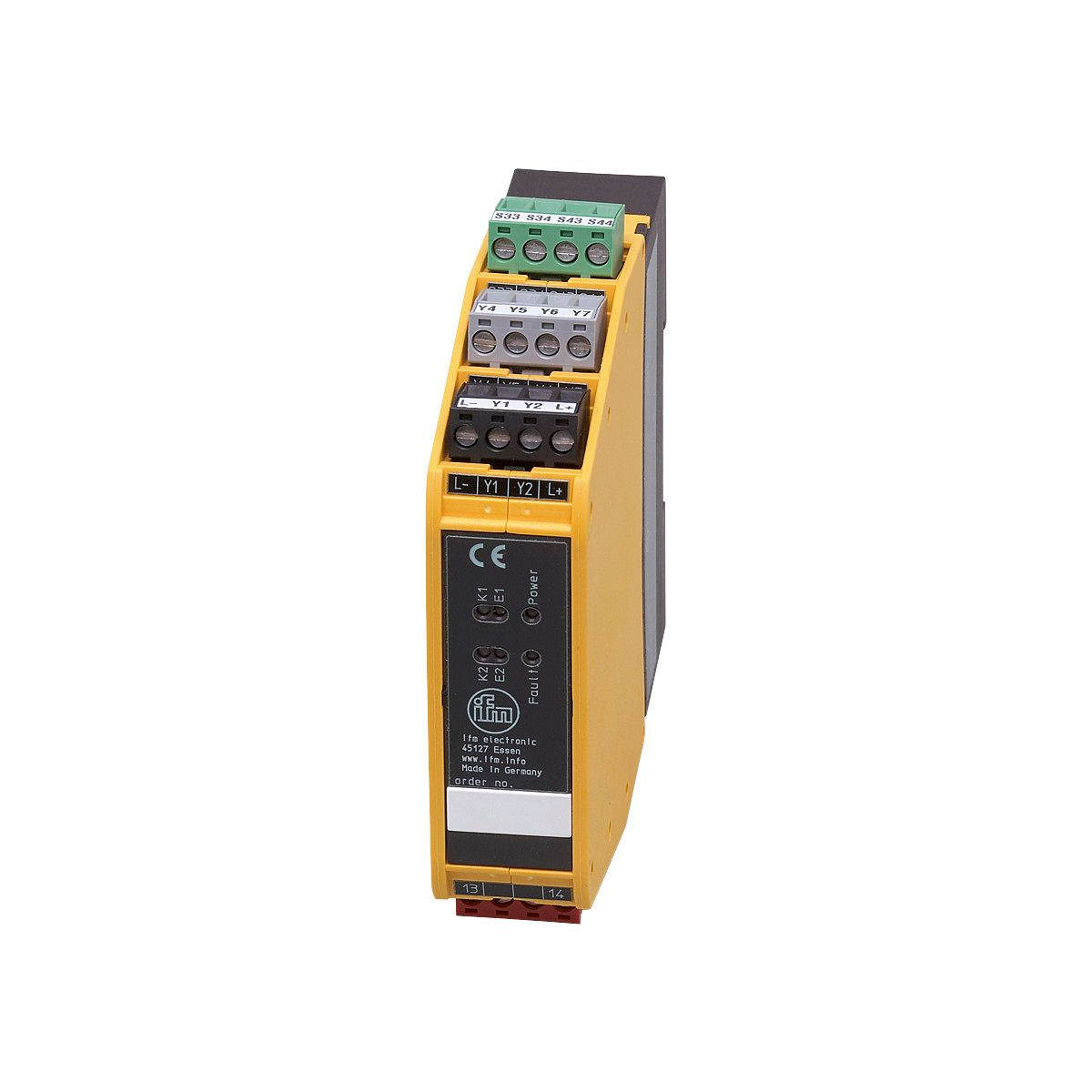 G1501S - Safety relay - ifm electronic