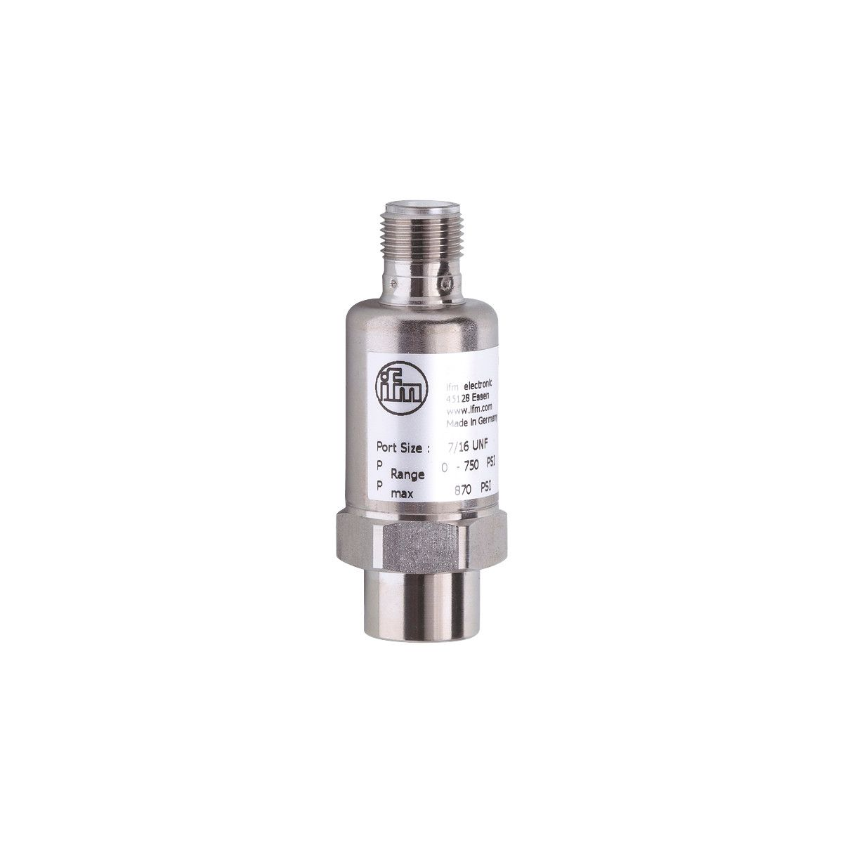 Electronic Real Id Application: Pressure Transmitter