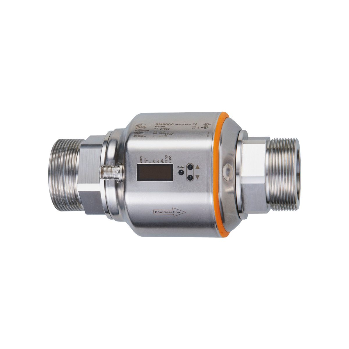 Sm9001 Magnetic Inductive Flow Meter Ifm Electronic Vision X Led Wiring Diagram