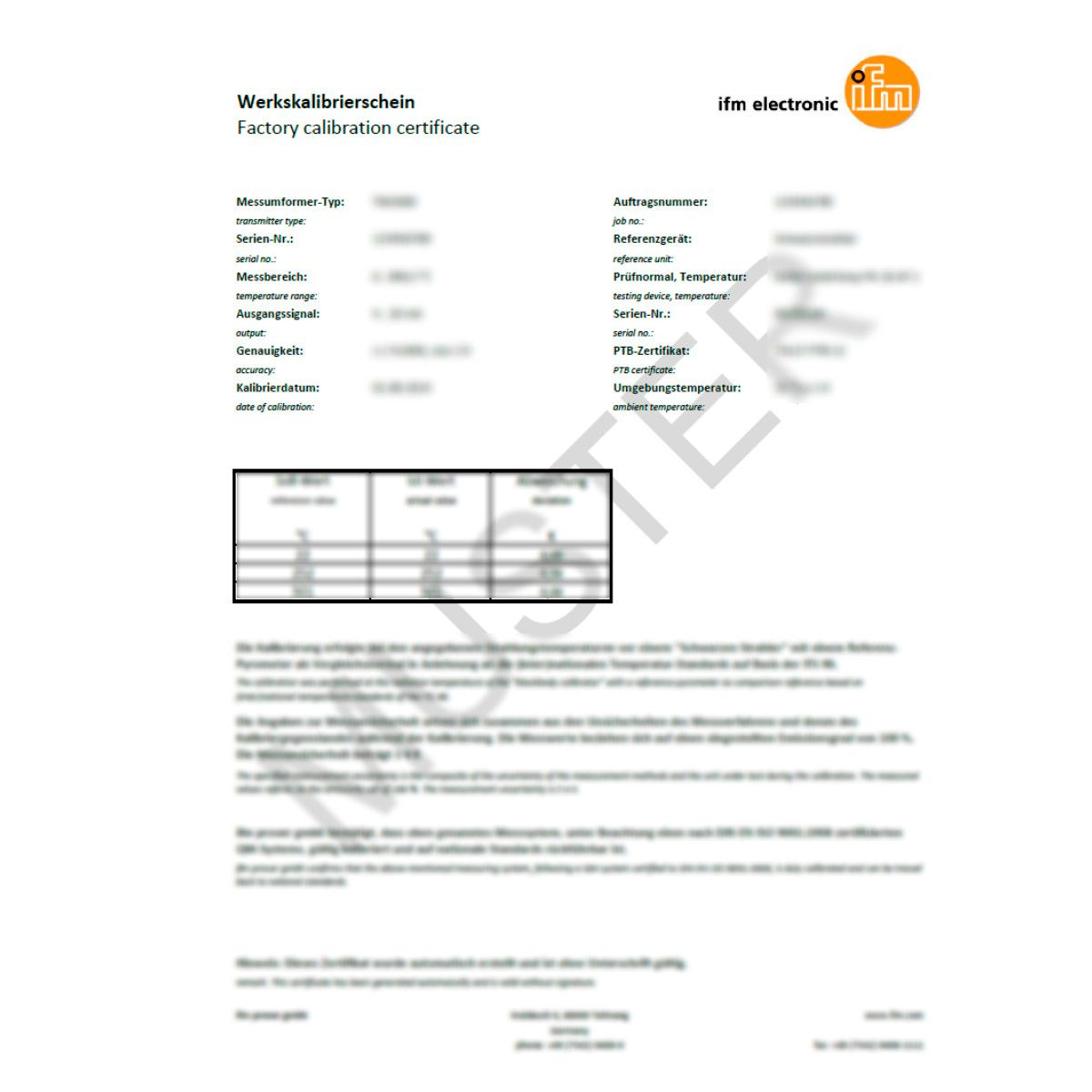 Zc0004 iso calibration certificate for pressure sensors and flow zc0004 iso calibration certificate for pressure sensors and flow sensors ifm electronic yadclub Image collections