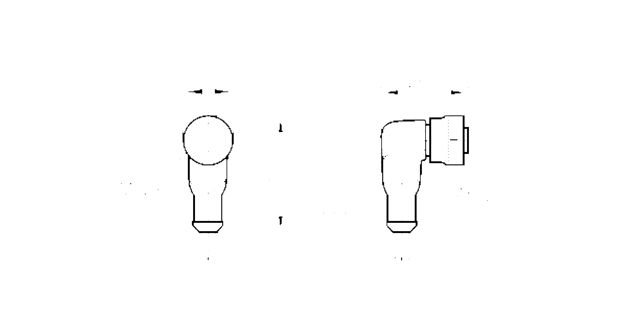 evc009 - connecting cable with socket