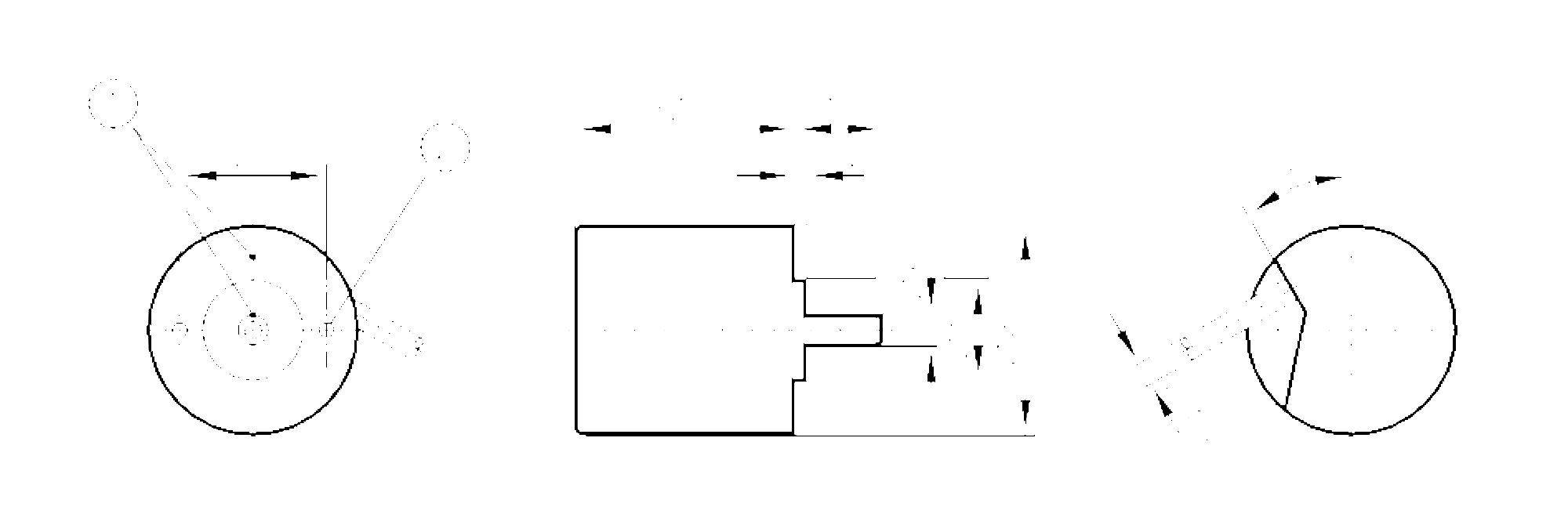 rb6007 - encoder incremental de eixo maci u00e7o