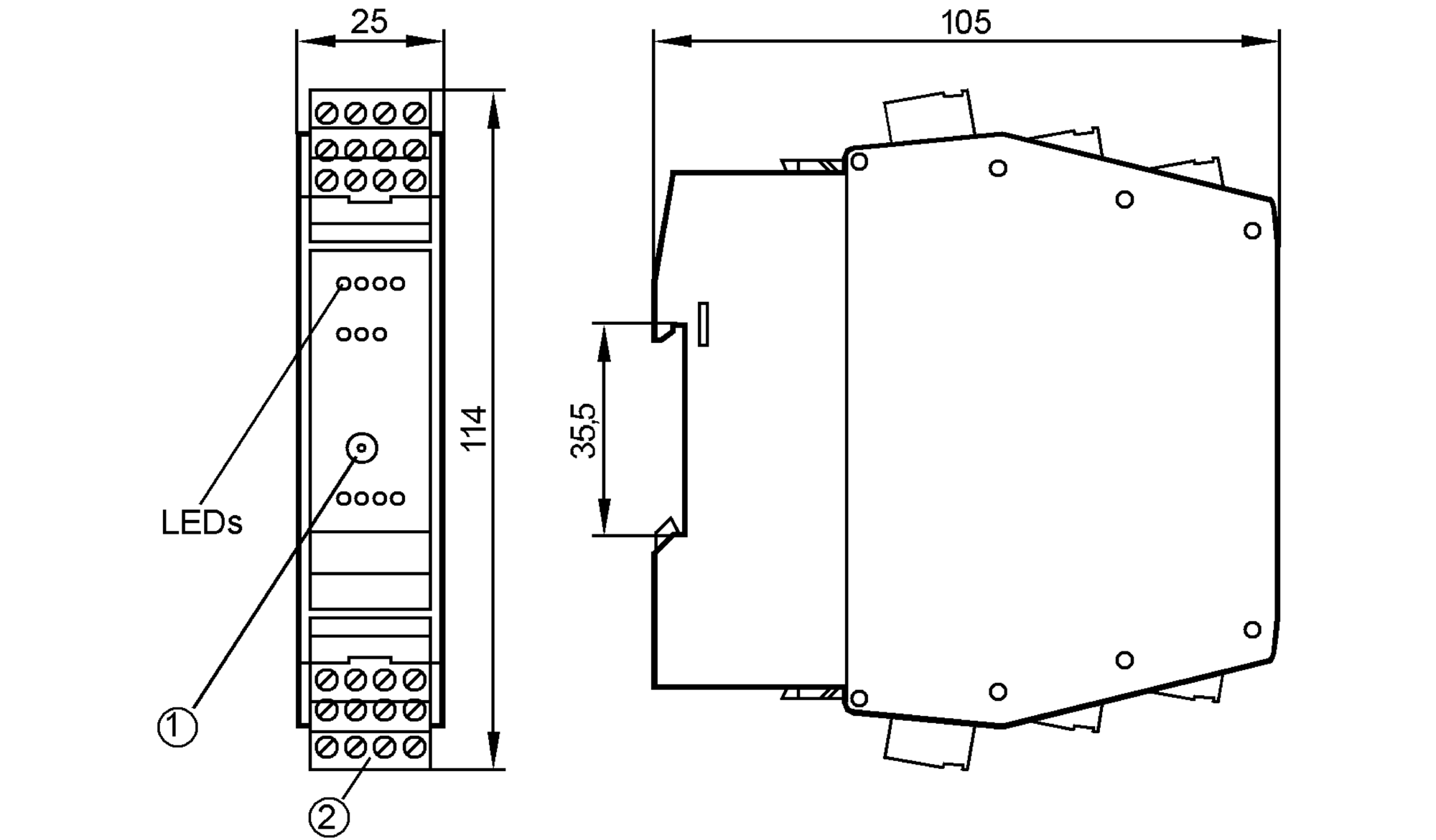 ac2266 - as-interface control cabinet module