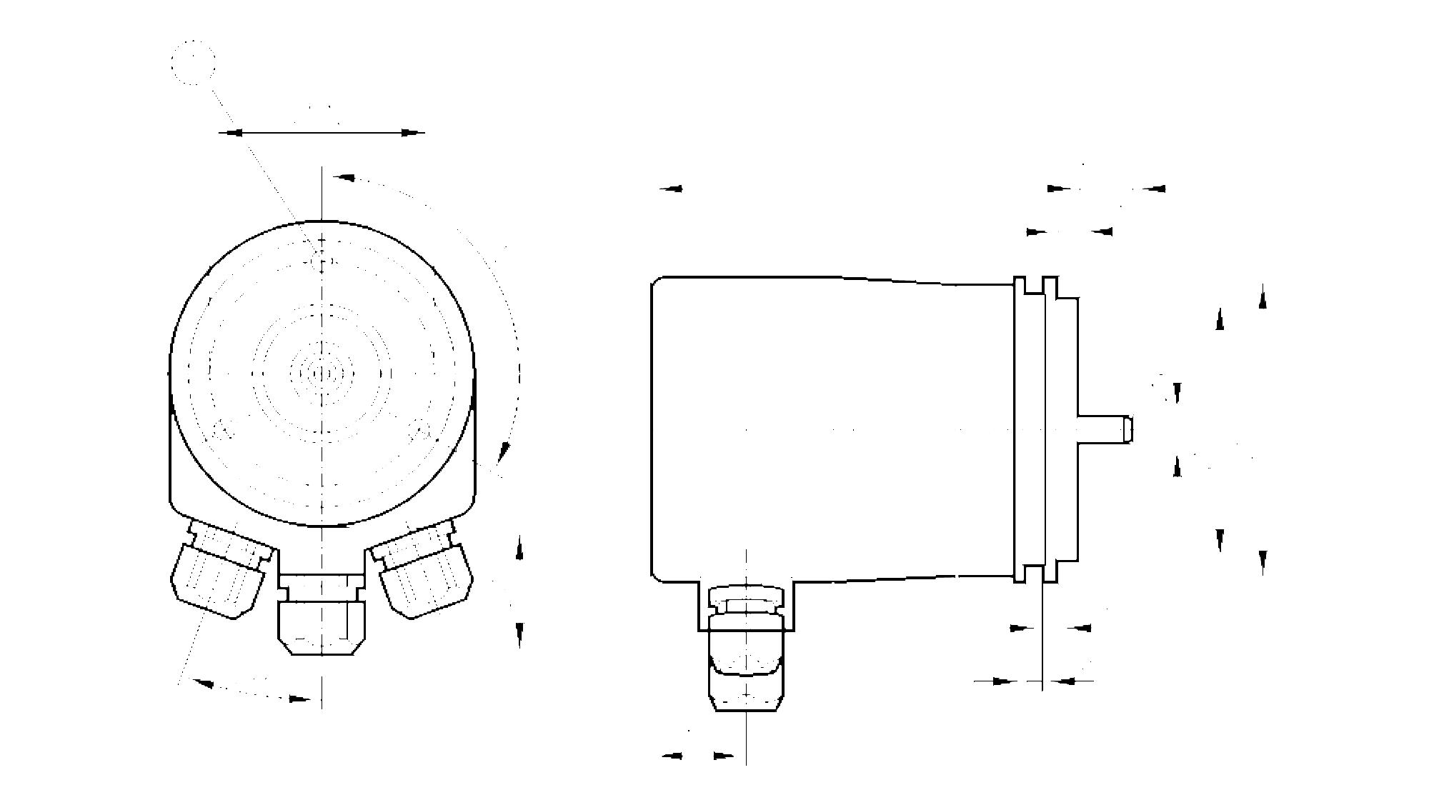 rm7003 - codeur multi-tours absolu  u00e0 arbre plein