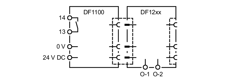 df1100 - power supply module for electronic circuit breaker