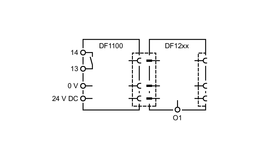 df1208 - electronic circuit breaker