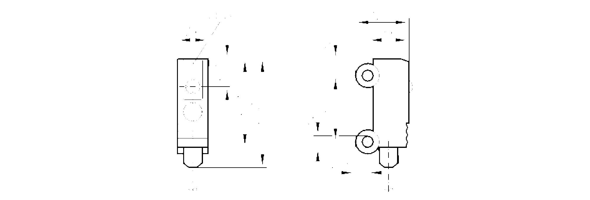 oh5002 - through-beam sensor receiver