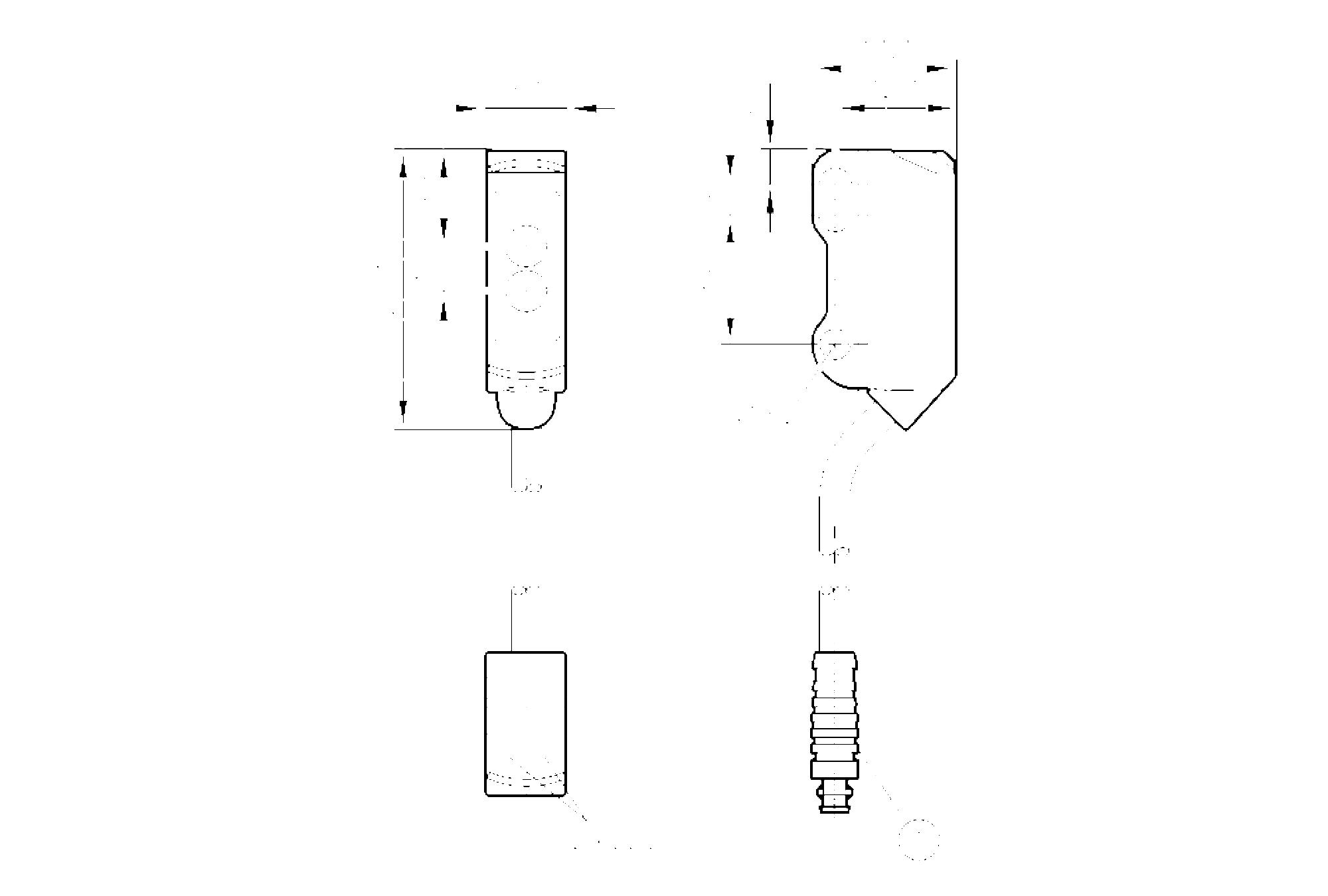 o8t205 - diffuse reflection sensor