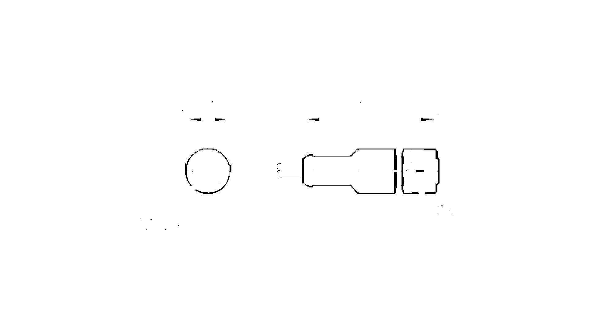 e12502 - connecting cable with socket