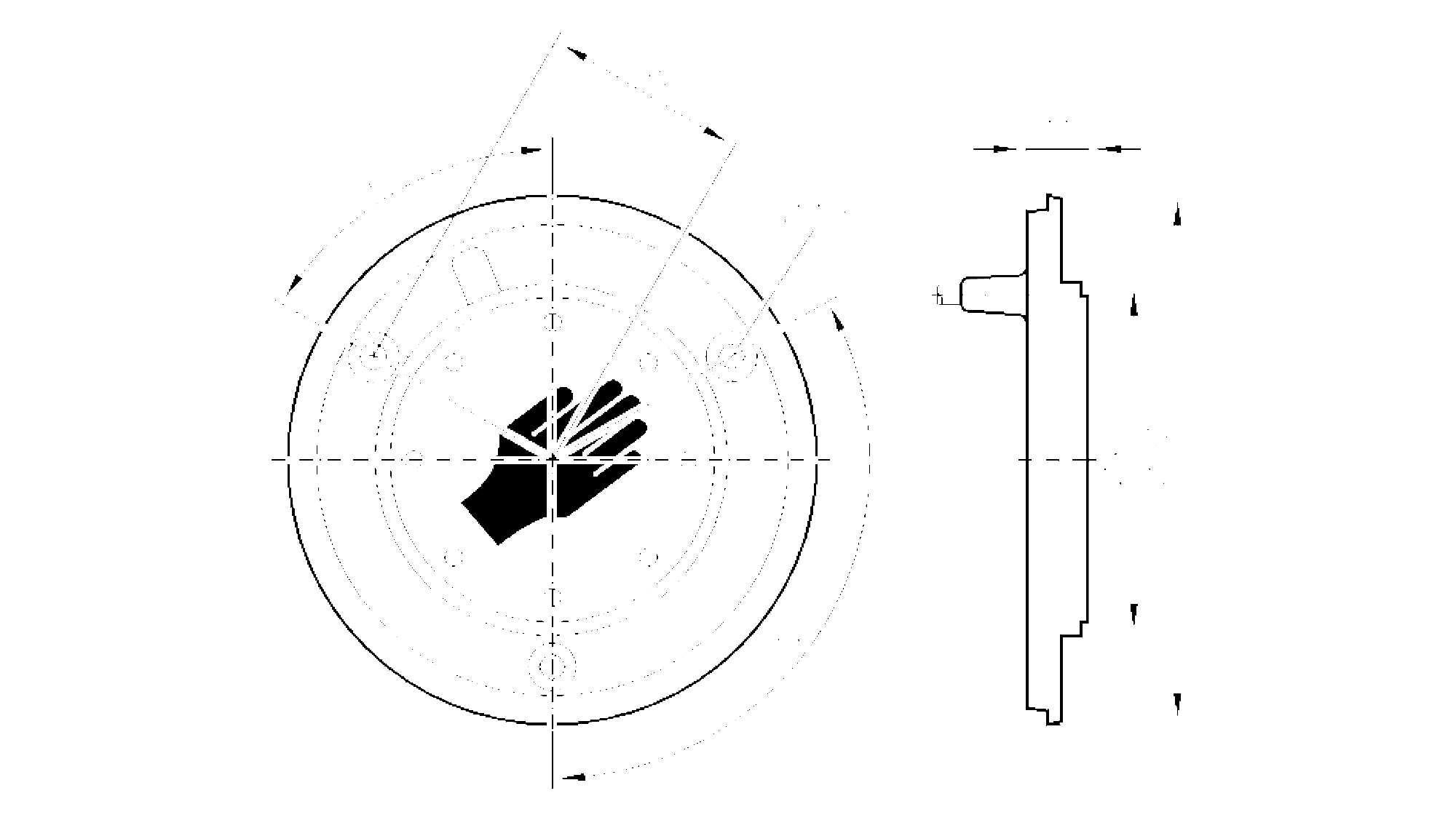 kt5010 - capacitive touch sensor