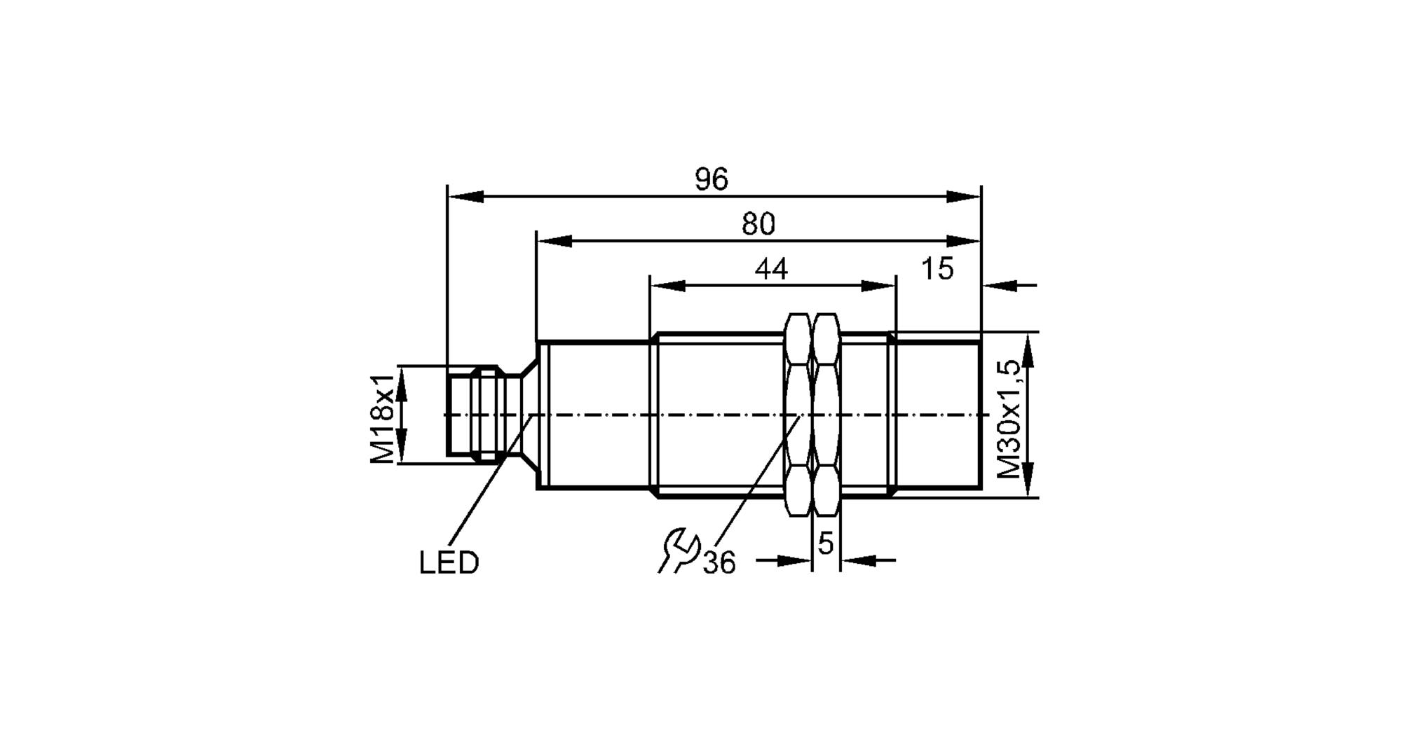 ii5483 - inductive sensor