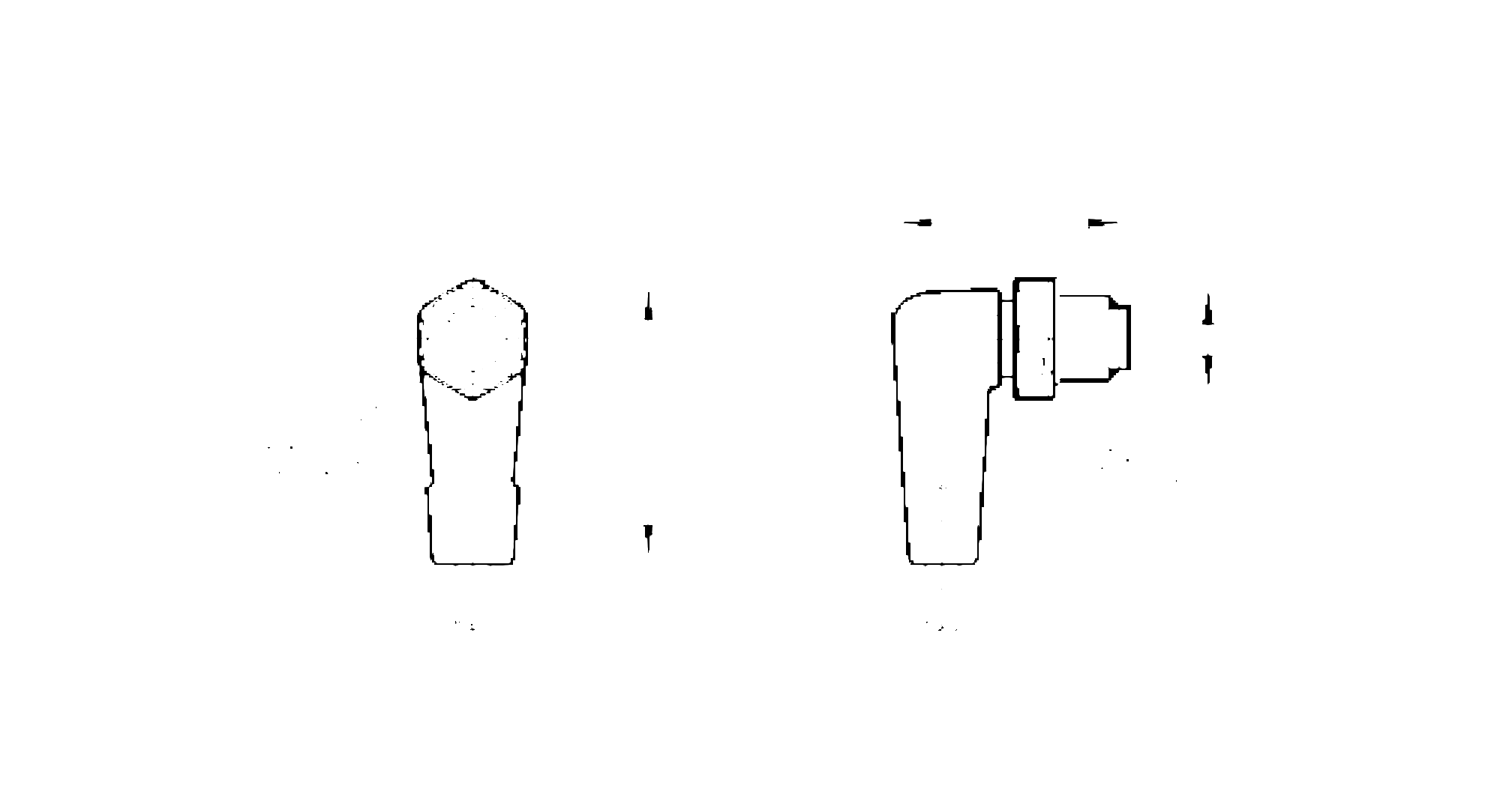 evf088 - connecting cable with plug