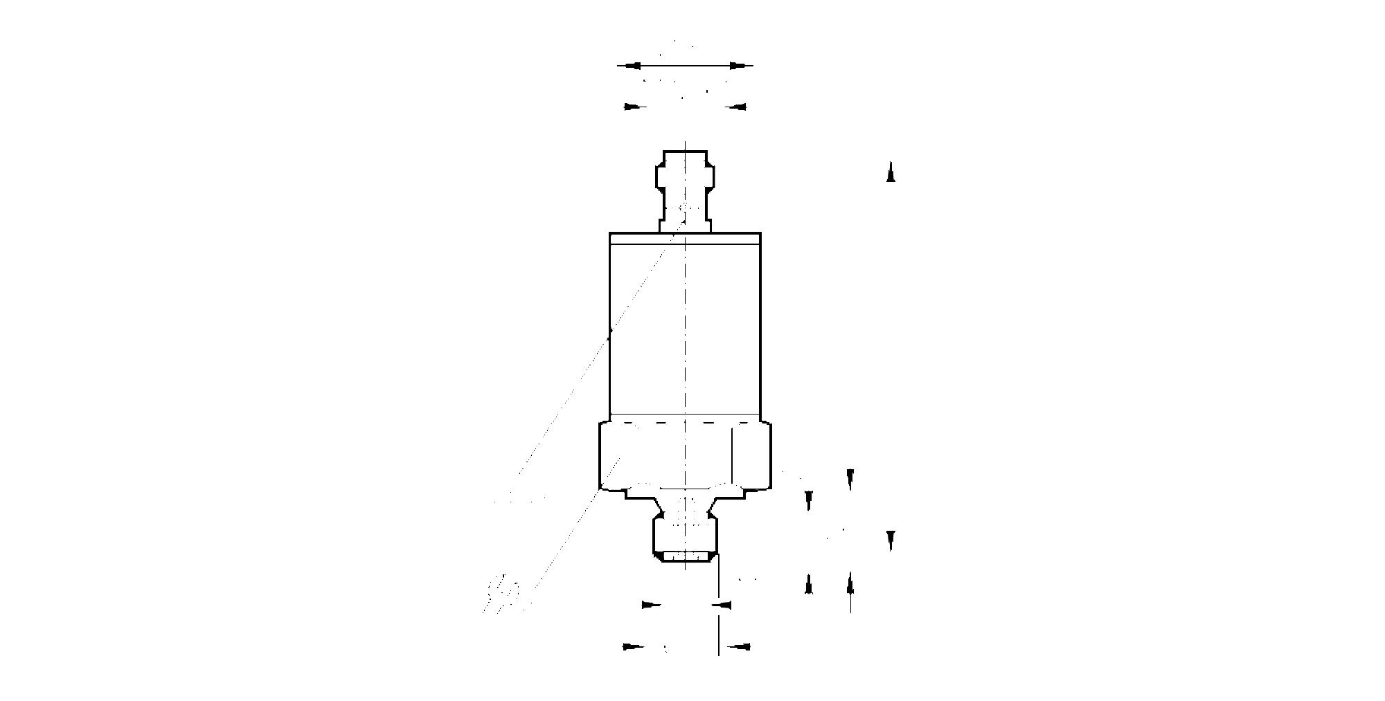 pp7020 - pressostato con cella di misura in ceramica