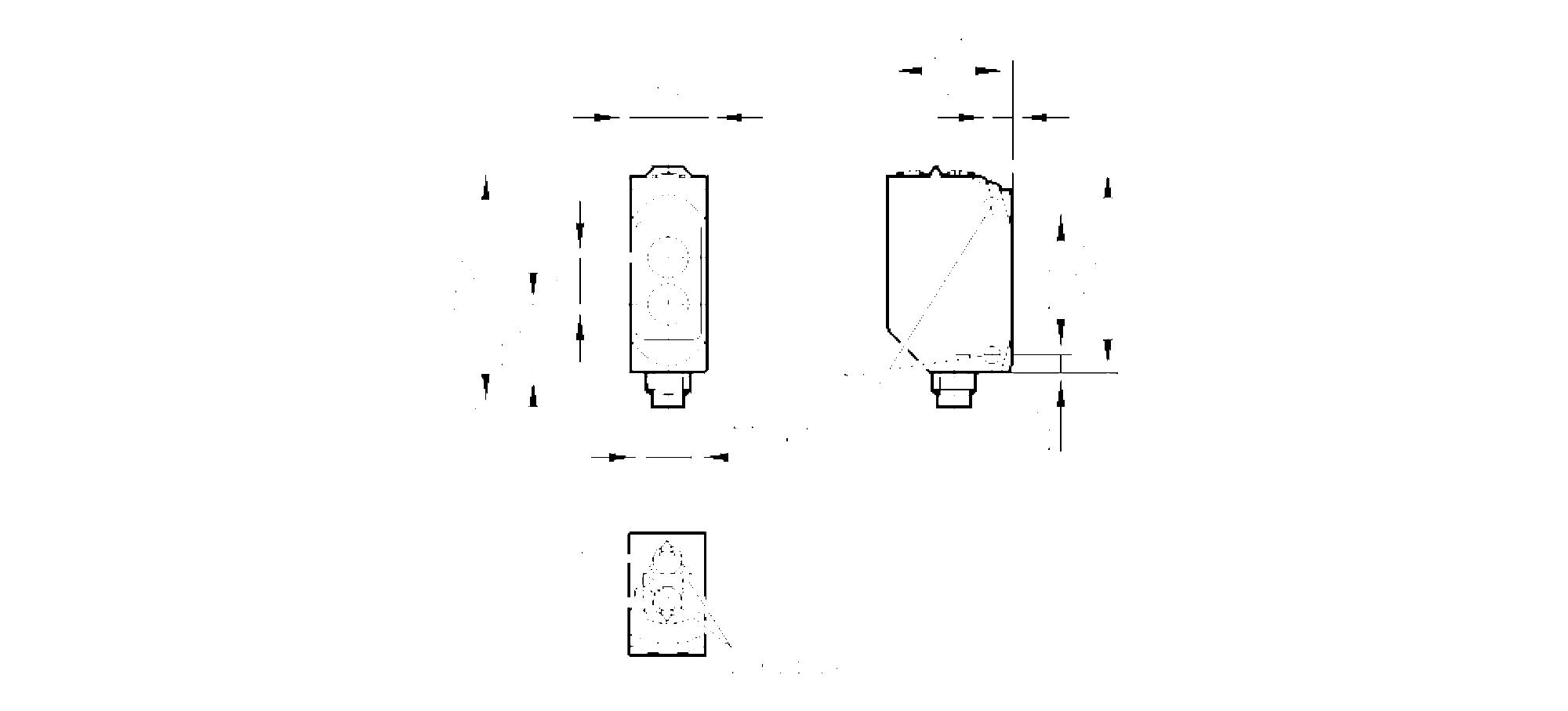 o6p302 - fotocellula reflex