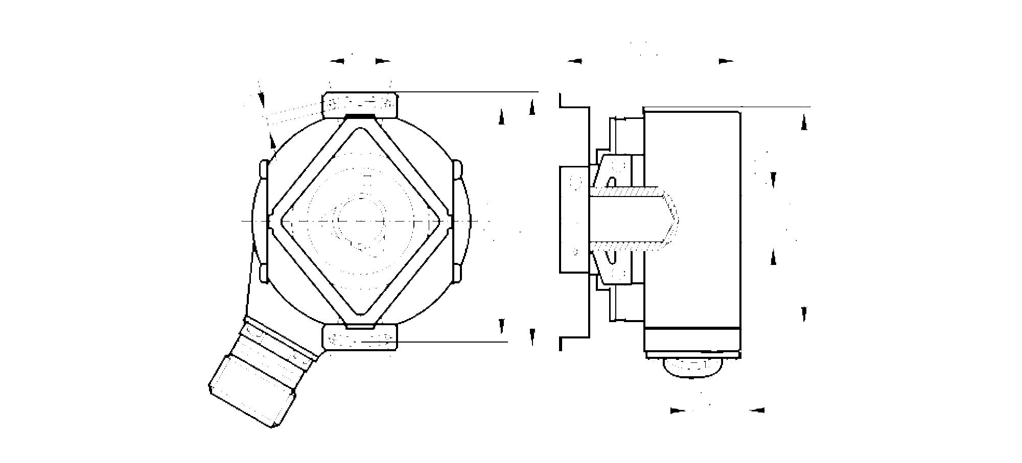 ro6357 - encoder incremental com eixo oco