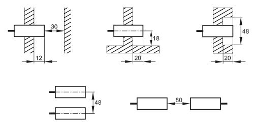 IFM Electronic Inductive Sensor IFS286 IFK3010-BPKG//K1//US-104 1