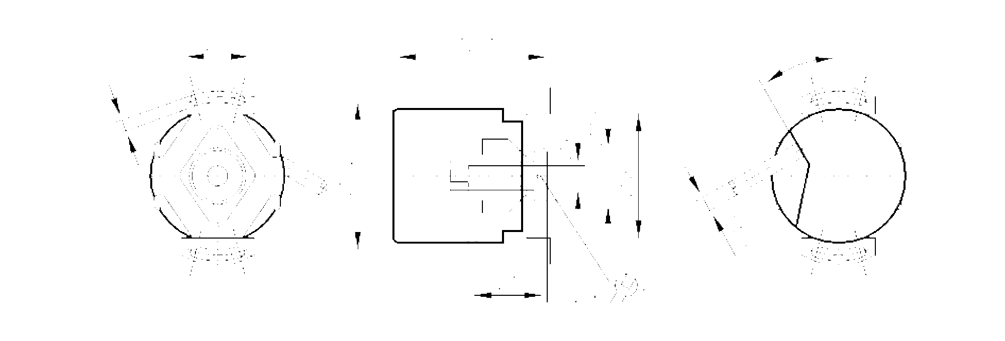 ra6007 - incremental encoder with hollow shaft
