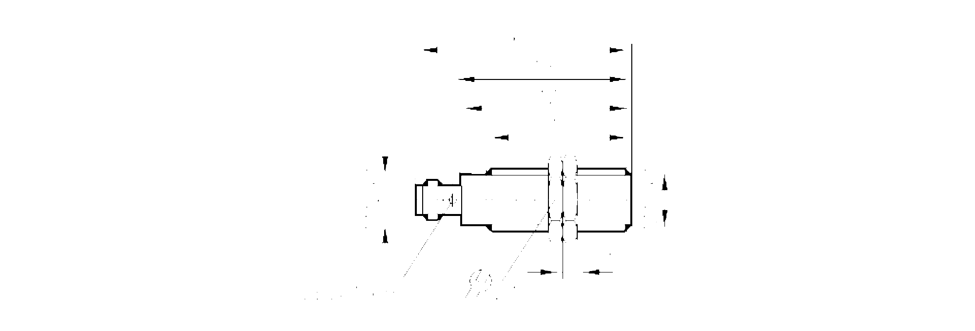 Oge200 Through Beam Sensor Receiver Ifm Electronic Pnp Output Wiring Diagram Emitter M12 Scale Drawing