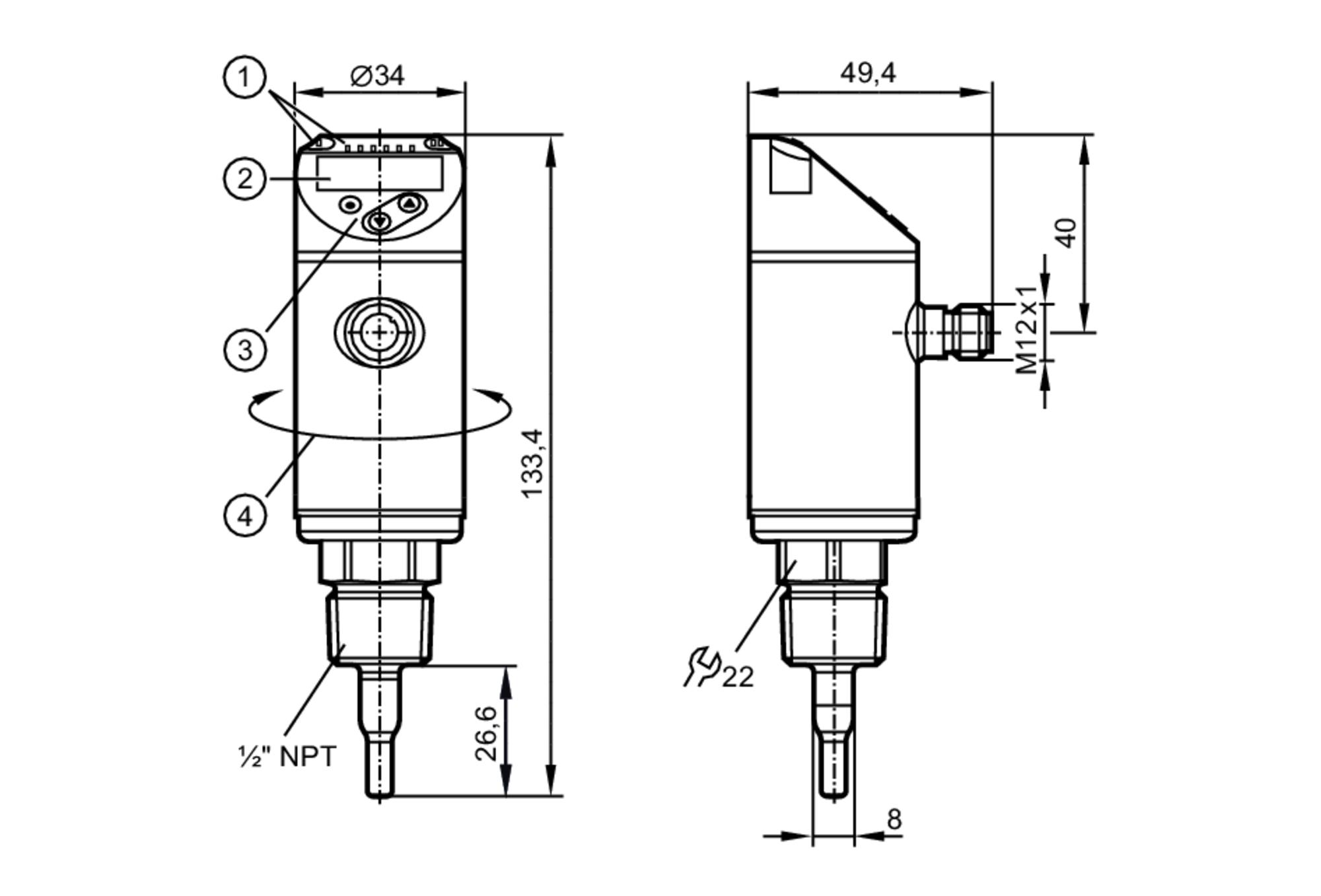 sa6014 - flow sensor