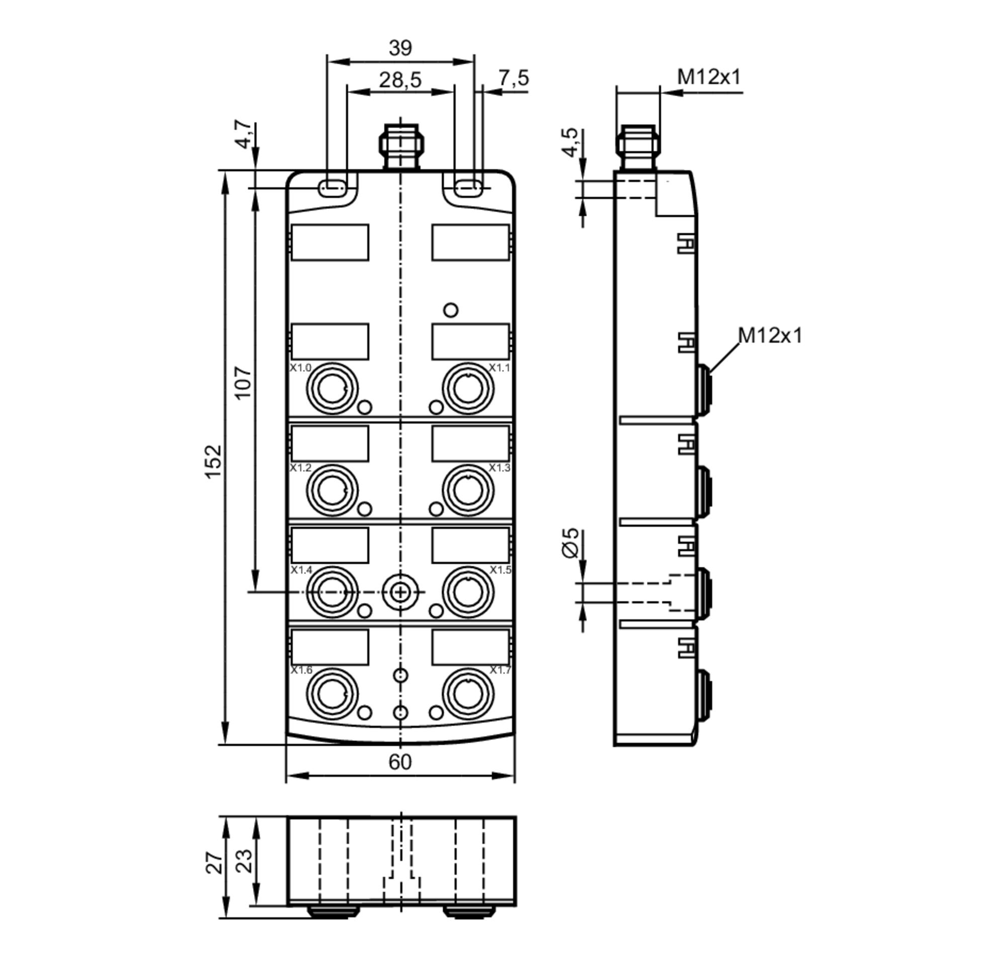 al2401 - io-link compactline module