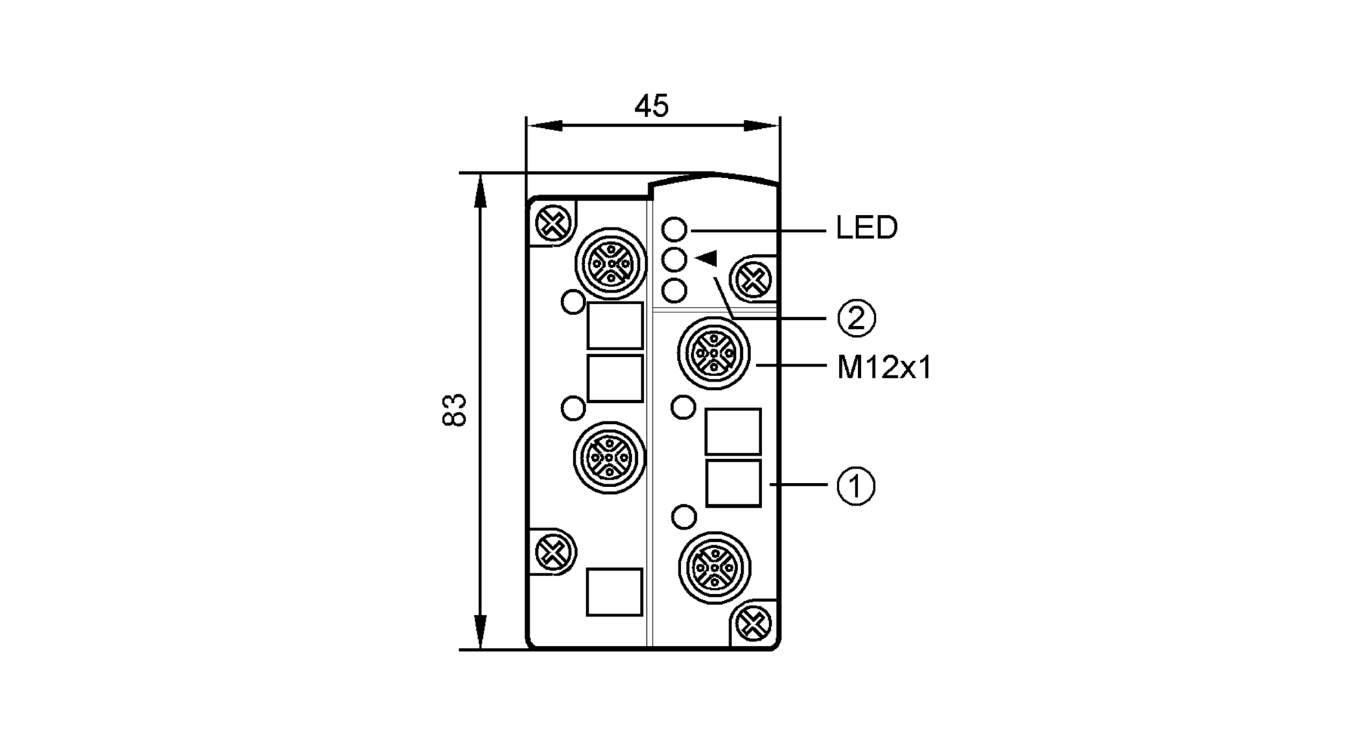ac2505 - as-interface classicline module