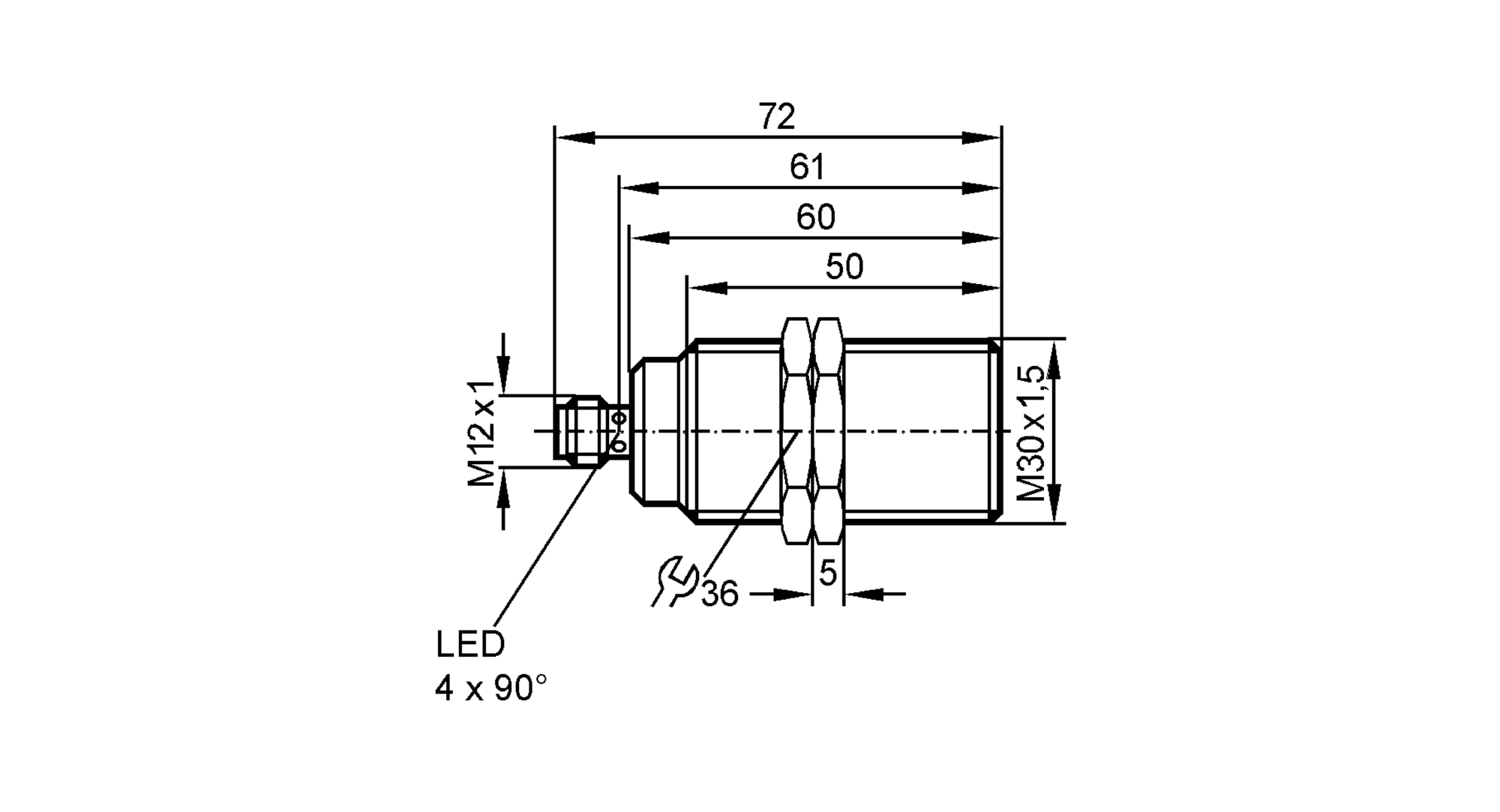 ii5742 - inductive sensor