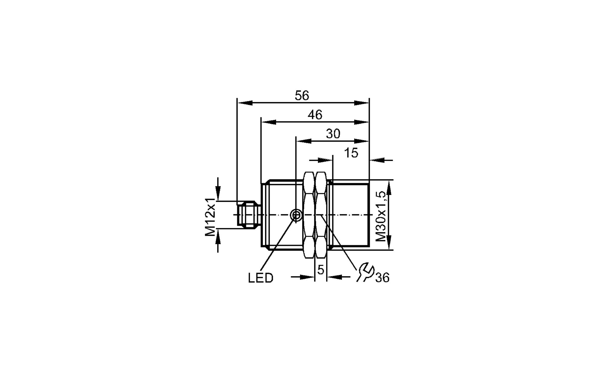 ii5430 - inductive sensor