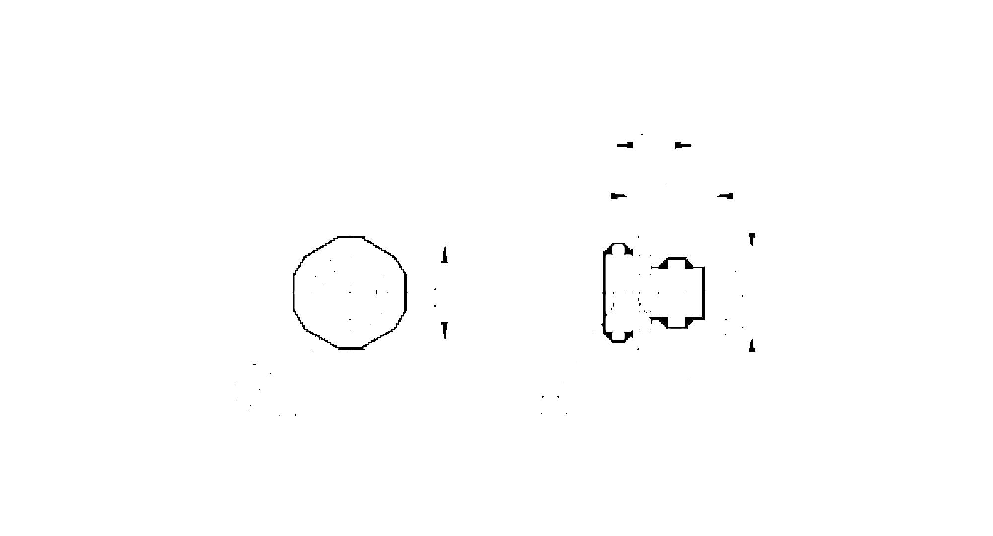 e11295 - male receptacle