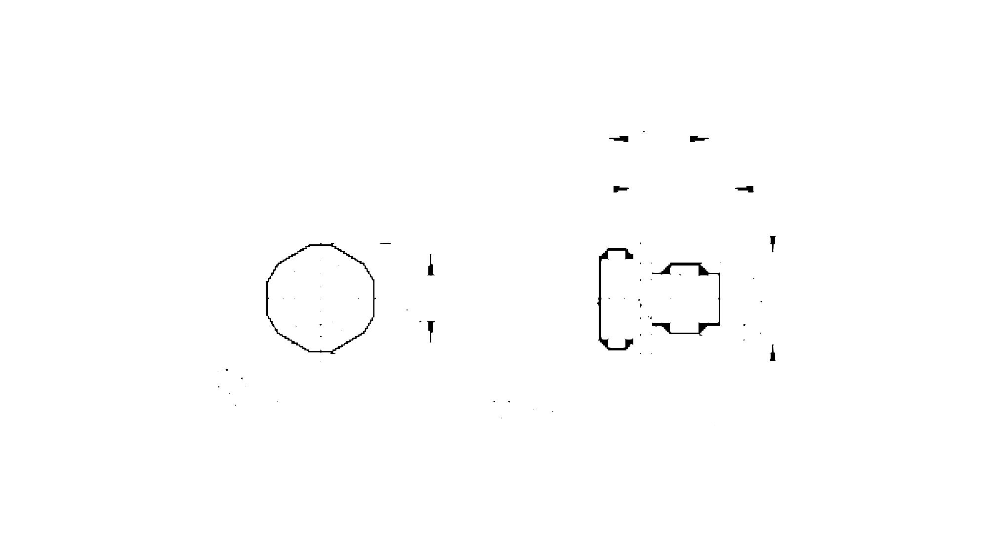 e11588 - male receptacle