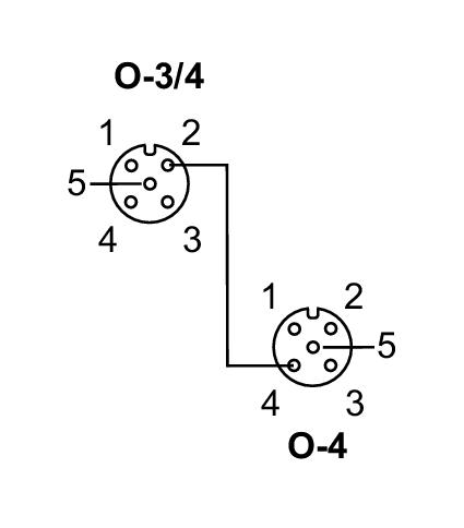 AS-Interface Modul; ClassicLine 2DI 2DO-Y IP67 IFM AC5211 FS